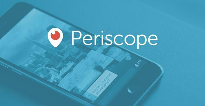 Que es Periscope y Como Usarlo