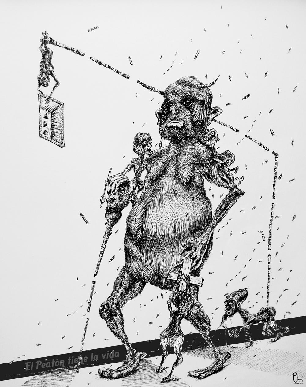ilustrador colombiano concept art diseño de personajes