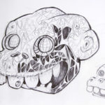 Simio-Dogmak-Ricardo-Imbachi-Mera-ilustrador-Colombiano-Concept-Art-Character-Design