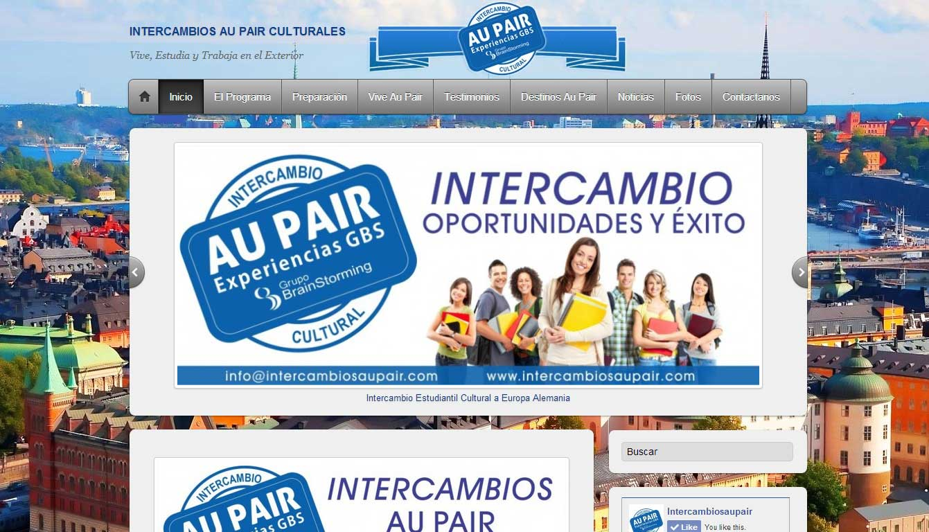 INTERCAMBIOS CULTURALES AU PAIR