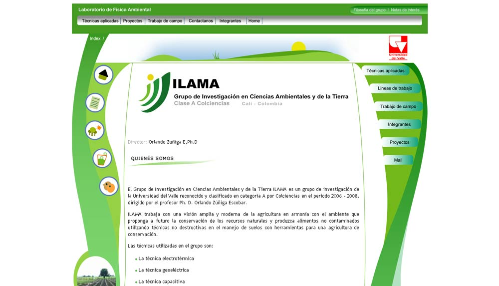 ILAMA - UNIVERSIDAD DEL VALLE